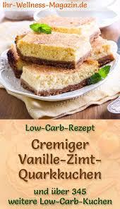 schneller low carb vanille zimt quarkkuchen rezept ohne
