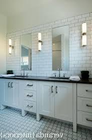 design subway tile backsplash bathroom decor ideas faucets bronze