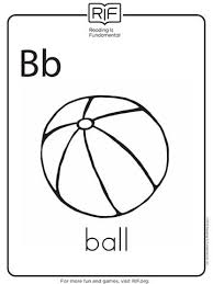 B Is For Ball