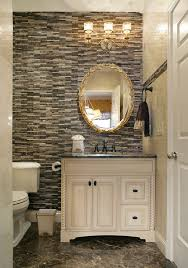 powder room vanities Powder Room Traditional with bathroom light