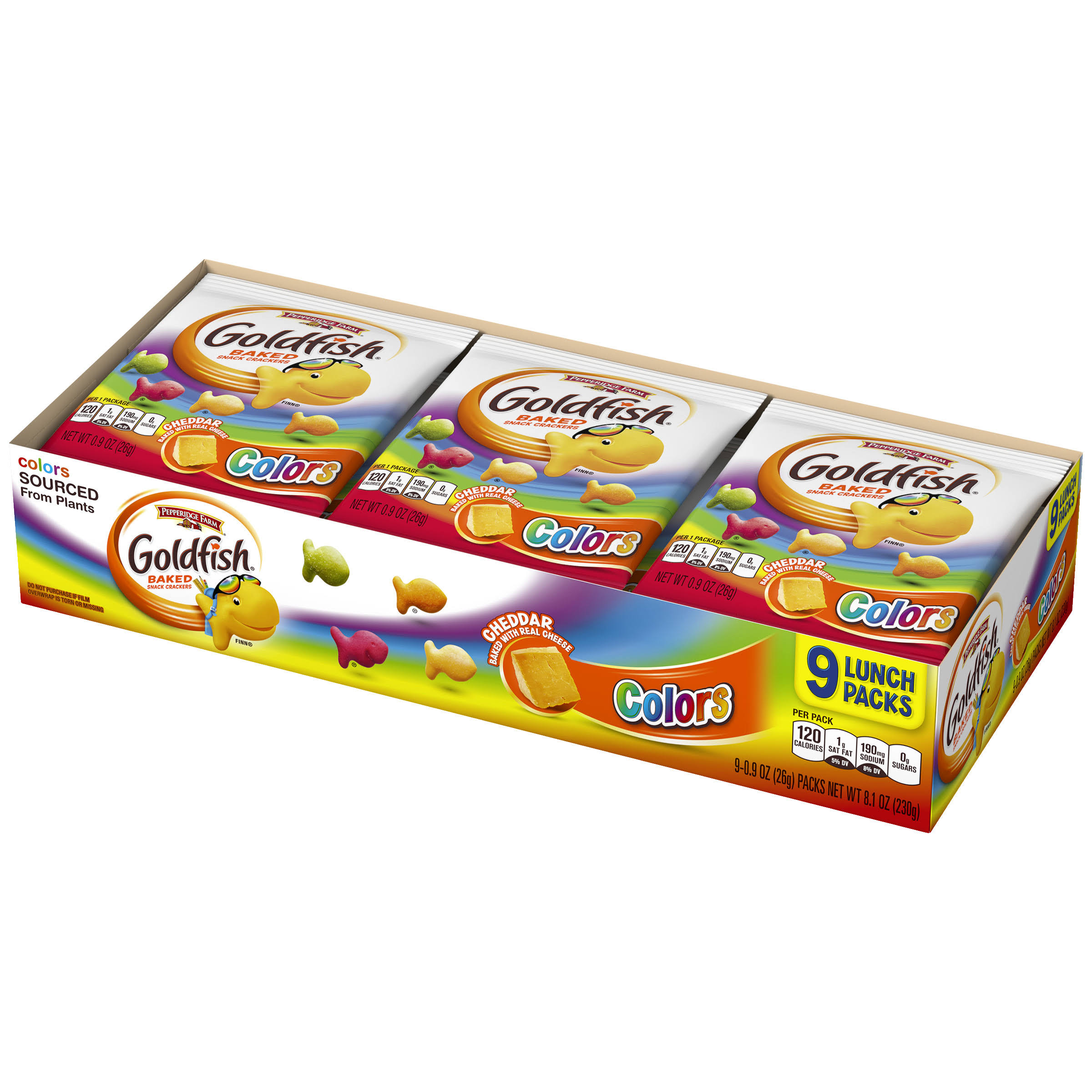 Pepperidge Farm Goldfish Colors Crackers - Multi Packs