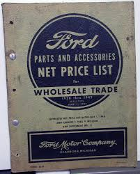 1928-1949 Ford Dealer Parts Accessories Wholesale Net Price List ... Armstrong Richardson On Twitter Get Stocked Up All Of Your Fashion Credit Card Holder Men Women Travel Cards Wallet Balck China Auto Accsories Waterproof Ip68 30w Whosale Car 4 Inch Led Usd 4013 Heli Hangzhou Forklift Awning Truck Accsories Truck Parts Caridcom Wheel Hub Accessory Buy Reliable 2017 New 4x4 Roof Top 360 Degree Rotation Navigation General Boat Automobile Spare 72x6cm 3d Metal Skull Skeleton Crossbones Motorcycle Socal Equipment Frontier Gearfrontier Gear