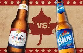Molson Canadian vs Labatt Blue