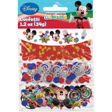 Mickey Mouse Bathroom Set Amazon by Amazon Com Amscan Disney Mickey Mouse Birthday Party Confetti