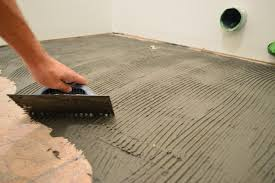 fresh 1 4 or 1 2 cement board for tile floor how to install