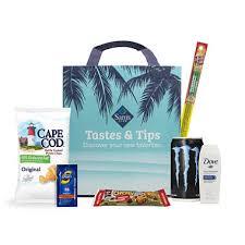 Sams Club Small Deck Box by Tastes U0026 Tips Sampler Bag Sam U0027s Club