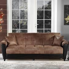 Istikbal Sofa Bed Instructions by Istikbal Aspen Mocha Microfiber Convertible Sofa Walmart Com