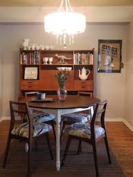 Mid Century Dining Room Table Set Modern Lamps Dresser