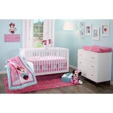 Minnie Mouse Canopy Toddler Bed by Disney Minnie Mouse Happy Day 3 Piece Crib Bedding Set Walmart