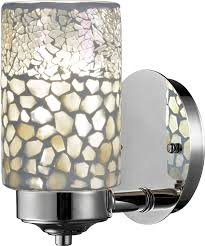 dale tw13018 alps brushed nickel wall light sconce