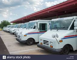 100 Delivery Trucks Mail Delivery Trucks In Ramsey New Jersey Stock Photo 156732383