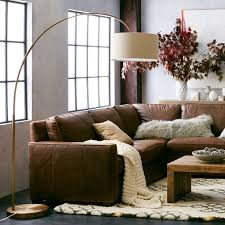 Sofa Creations Broad Street by Cfl Overarching Floor Lamp Antique Brass White Floor Lamp