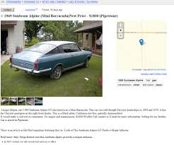 100 Craigslist Minneapolis Cars And Trucks By Owner Project Car Hell European Muscle Car Doppelgngers Sunbeam Alpine