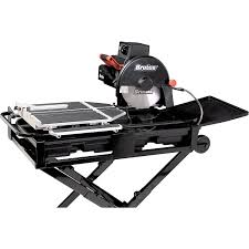 Qep Wet Tile Saw Model 60010 by Brutus 61024br Professional Tile Saw With 10 Inch Diamond Blade 1