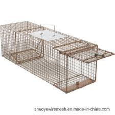 live cat trap human live capture trap cage from china factory china feral cat