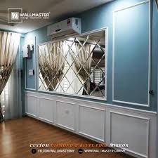 DIAMOND MIRROR PENYERI RUMAH ANDA Wallmaster Design Build