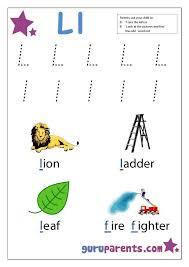 8 best Letter L Worksheets images on Pinterest