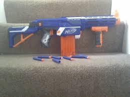 nerf n strike elite retaliator range test
