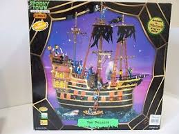 Lemax Halloween Village 2017 by Lemax Halloween Spooky Town Village The Pillager Pirate Ship