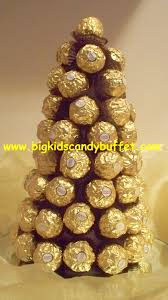 Ferrero Rocher Christmas Tree Stand by Sweet Trees Modroc