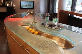 104 Glass Kitchen Counter Tops Modern Tops From Unusual Materials 30 Ideas