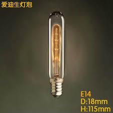 vintage retro t18 e14 ac 220v 40w incandescent vintage filament