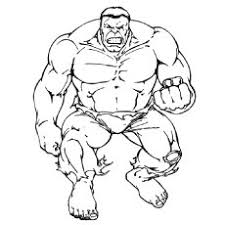 Popular Hulk Coloring Pages For Tler