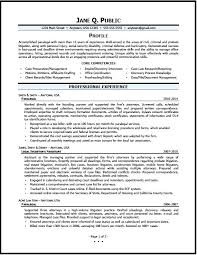 Resume Examples For A Paralegal Packed With Create Astounding Sample 2016