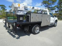 4x4 Ford F550 Diesel Service Utility 5klbs Crane Propane Truck ...