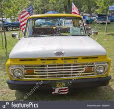 Auto Transport: 1961 Ford Unibody F100 Truck Front - Stock Photo ...