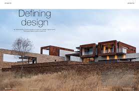 Decor Magazines South Africa by Sa Home Owners Magazine Nico Van Der Meulen Architects