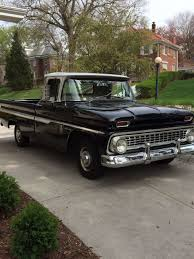 100 1963 Chevy Truck Sean Kimble His 63 Like A Rock GMC S