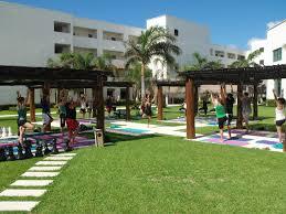 Get Zen Through Yoga At Secrets Silversands Tan Lines