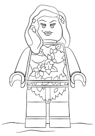 Free Lego Batman 2 Coloring Pages Printable Movie