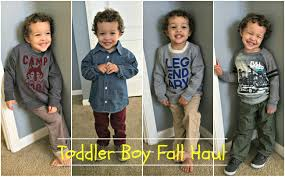 Toddler Boy Fall Clothing Haul Try On