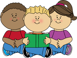Clipart Children Reading ClipartXtras