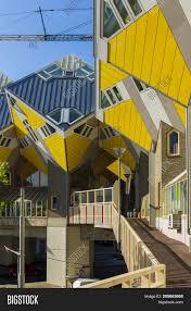 100 Cube House Design Rotterdam Netherlands Image Photo Free Trial Bigstock