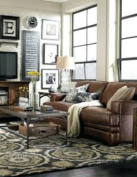 Red Leather Couch Living Room Ideas by Leather Living Room Ideas A Large Formal Living Room With A Large
