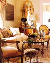 Country French Living Room Furniture by Country French Living Room Gilded Mirror Fauteuil Side Chairs