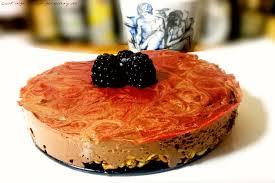 quark schoko kuchen mit dinkel poffies rezept ohne zucker
