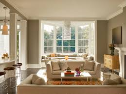Living Room With Fireplace And Bay Window by Architecture Contemporary Curtain With Bay Window Seat And Wall