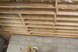 Floor Joist Spacing Shed by How To Make Floor Joists Stronger Home Guides Sf Gate