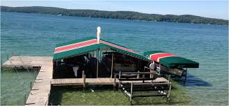 100 Lake Boat House Designs Head Marine Canvas Harbor Springs MI