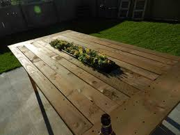 Planter Easy Diy Garden Handmade L Shaped Built In Pallet Bench With