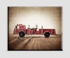 100 Fire Truck Wall Art Amazoncom Vintage On Canvas Engine Boys Room