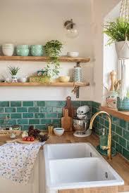 dekoideen für die küche im boho vintage look mit selbst