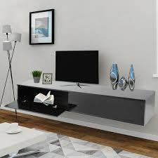 möbel wohnen tv lowboard schrank hängeboard board mit