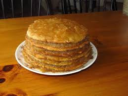 Oldfashioned Stack Cake With Appalachian Apple Butter Filling