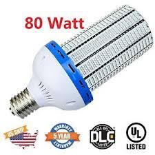 80watt led corn light bulbs e39 250 350w hps replacement 5500k