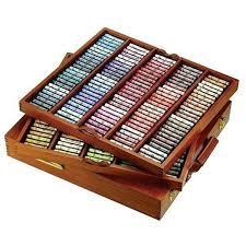Sennelier Soft Pastels The Royal Selection Wooden Box Set